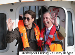 Nigel Farage Just Met Joey Essex On A Fishing Boat - What Could Possibly Go Wrong?