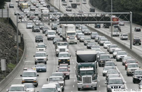 seattle highway traffic