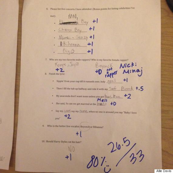 beyonce exam 2