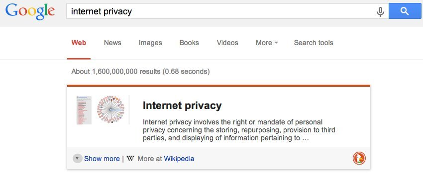 improve internet privacy