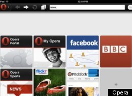 Opera Mini 6 Browser Ipad Iphone
