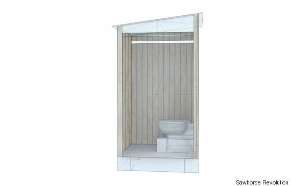 sawhorse revolution toilet
