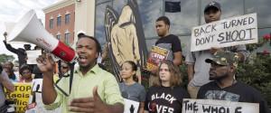 Walter Scott Protestors