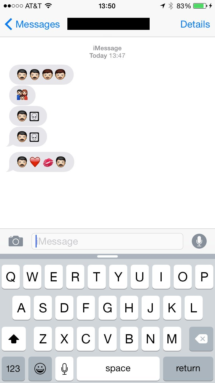 Dont send new emoji to someone who doesnt have them yet huffpost new emoji old ios buycottarizona Gallery