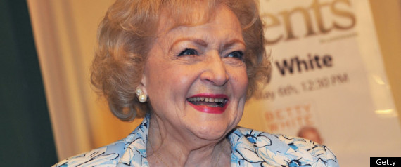 BETTY WHITE AGING