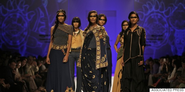 amazon india fashion week malini