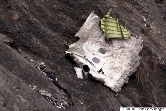 germanwings wreckage