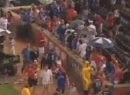 Rangers Ballpark Evacuated