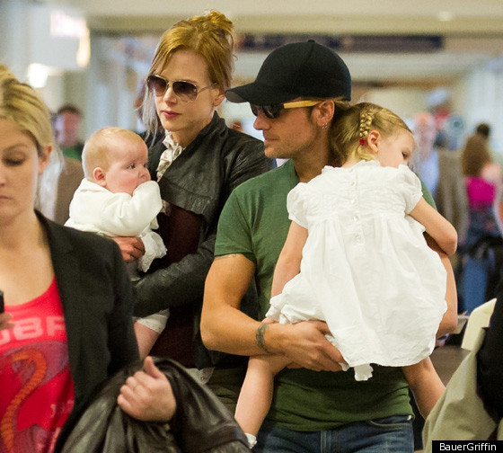 Nicole Kidman Keith Urban Out With Daughters Photos