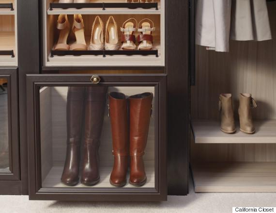 cali cloest boot display