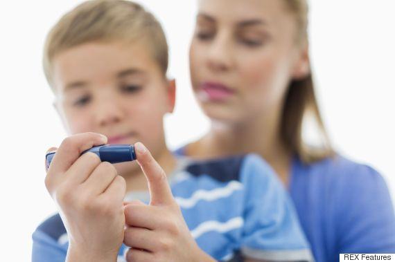 child blood test
