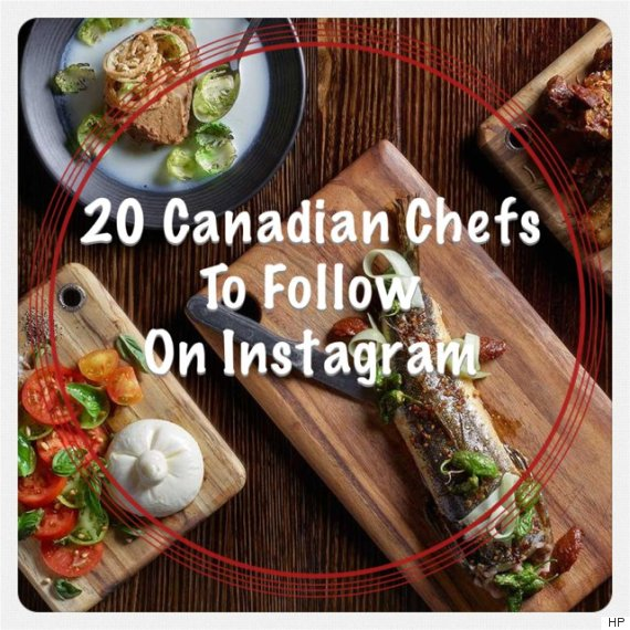canadian chefs instagram