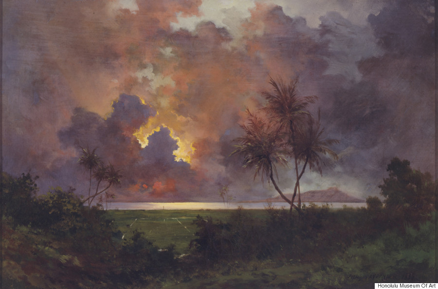 jules tavernier sunrise diamond head