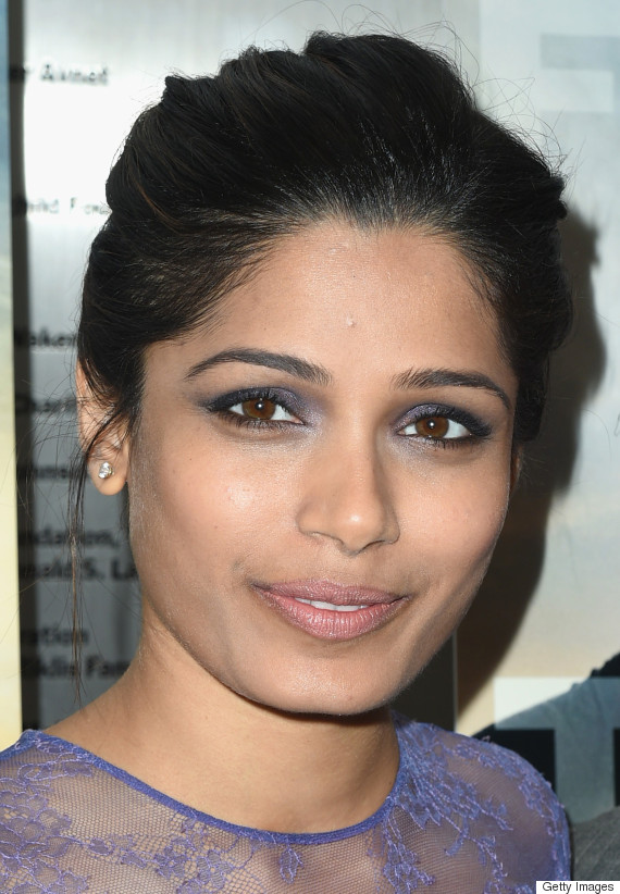 Chrissy Teigen's Medium-Length Hair & More Beauty Looks We ... Freida Pinto