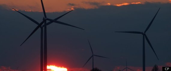 ONTARIO WIND TURBINES GREEN ENERGY
