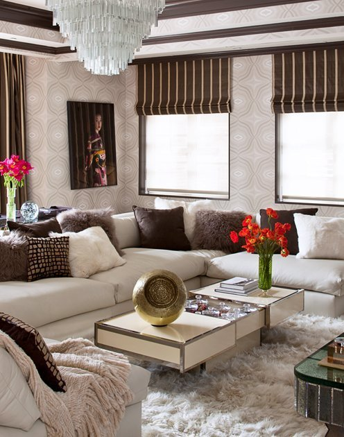 ... along with amazing interior design for celebrities like Sharon and  Ozzie Osbourne and Daisy Fuentes in the new show, Million Dollar Decorators,  ...