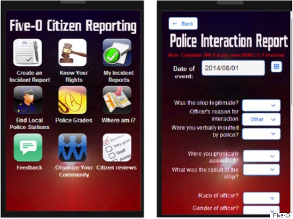 Apps for police officers