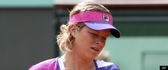 Kim Clijsters Upset French Open
