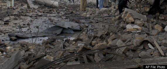 Pakistan Bombing Leaves Dozens Dead