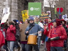 Quebec City Protesters Rally For Government Action On Climate Change