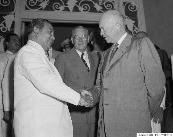 fulgencio batista eisenhower 1956
