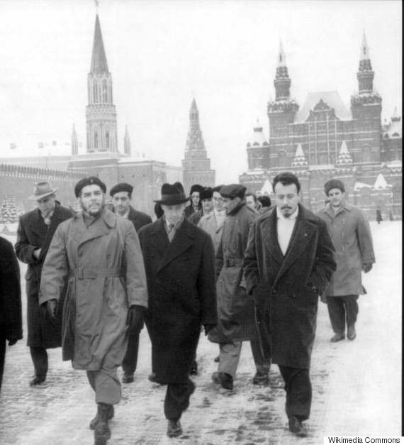 che guevara moscow