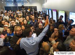 Hundreds Line Up For $94,000 Surrey Condos