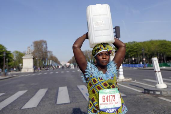 bidou eau marathon