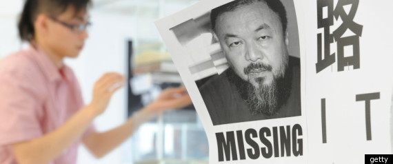 Ai Weiwei Missing