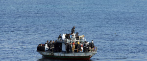 Migrants Boats Lampedusa Tunisia