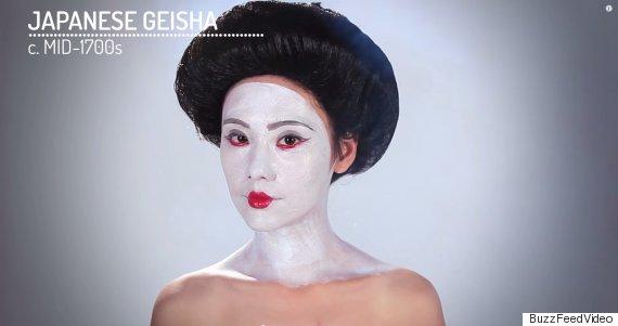 japanese geisha makeup