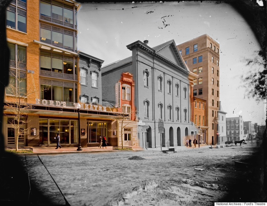 fords theater then now