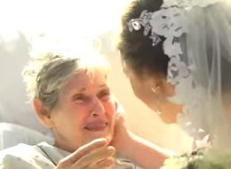They Left Their Own Wedding To Visit The Bride's Hospitalized Grandma. Here's What Happened Next
