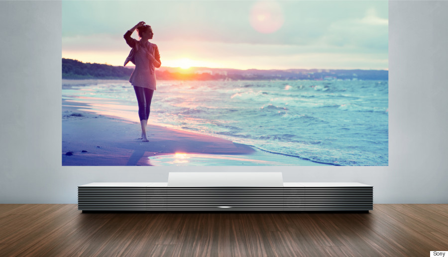 sony ultra short throw projector