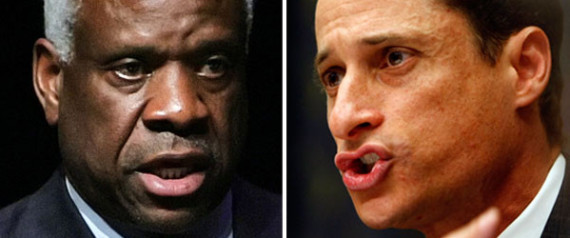 ANTHONY WEINER CLARENCE THOMAS