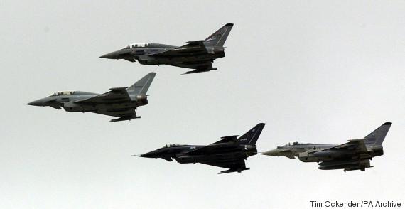 typhoon plane raf