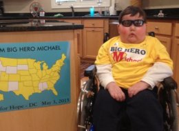 6-Year-Old Hero Raises Money For Cancer Research While Battling A Brain Tumor