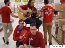 ► B.C. Target Staffers' 'Closing Time' Rendition Goes Viral
