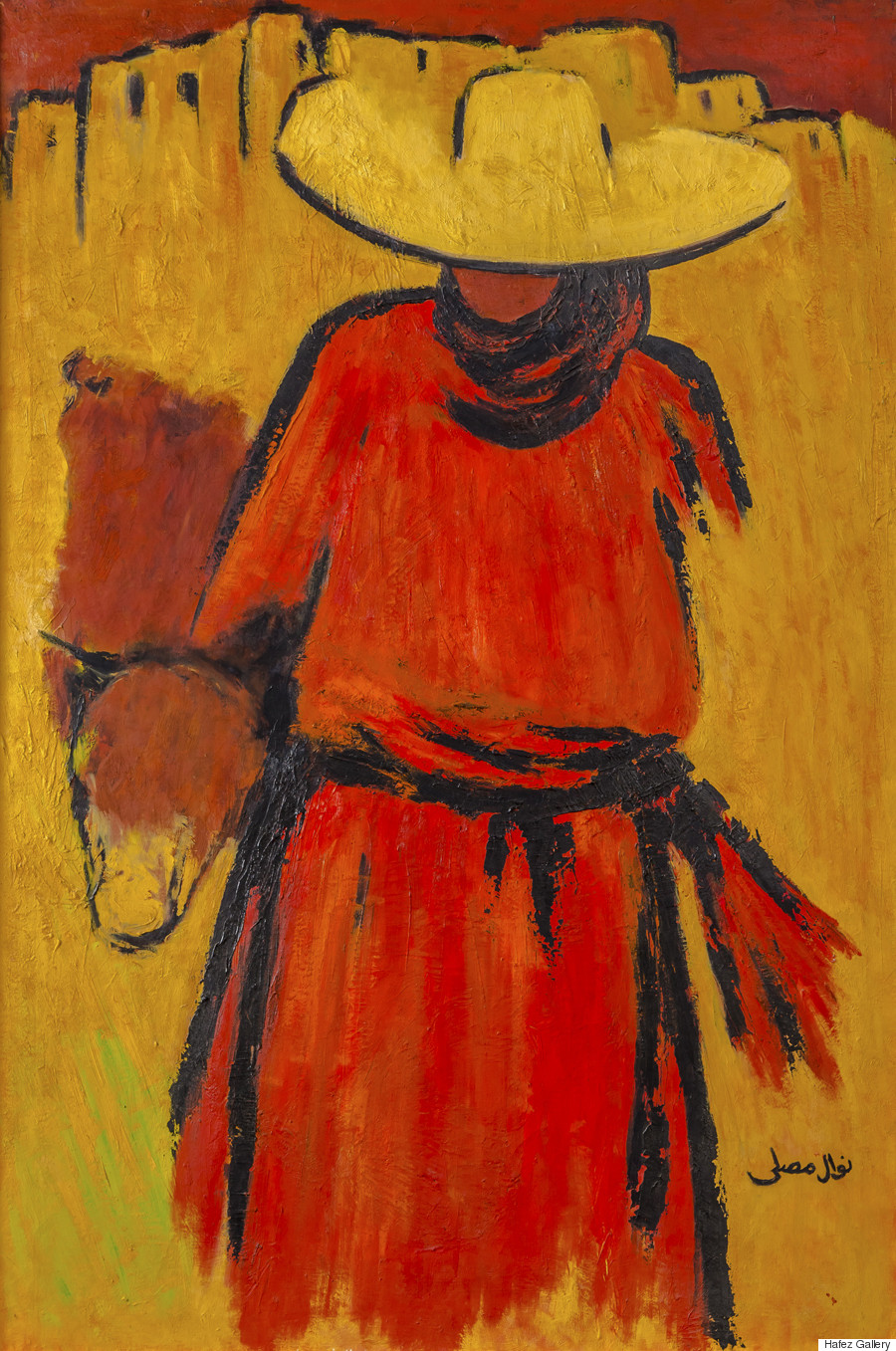 nawal mussali a shepherdess from the south