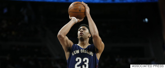 anthony davis shoots