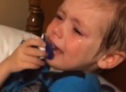Toddler Reaction To Hillary Clinton Announcement Is So Politically Incorrect