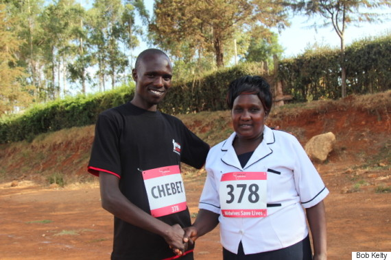 kenyan marathon runners ii
