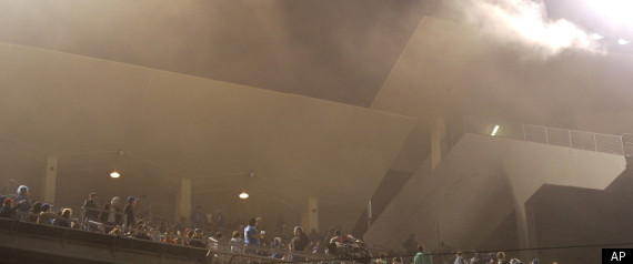 DODGER STADIUM FIRE