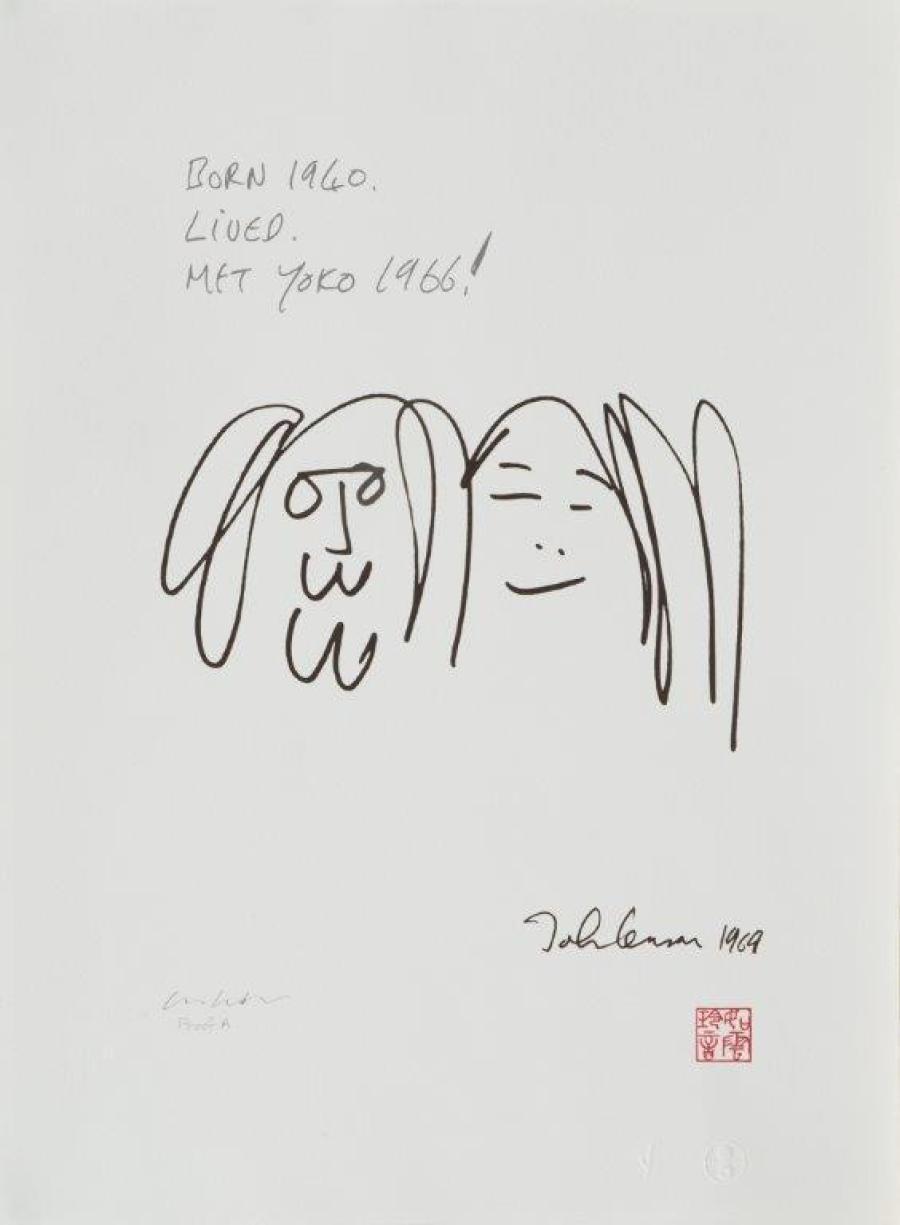 Forever Love Lennon Began Drawing