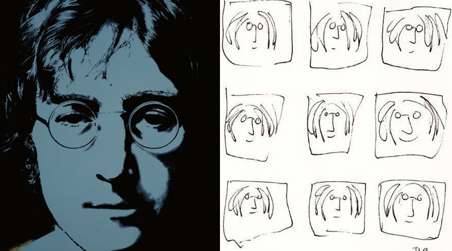 Yoko Ono On John Lennon S Forgotten First Love Drawing Huffpost