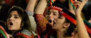 imran khan protests