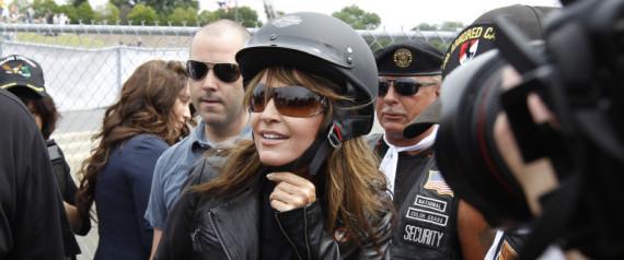 SARAH PALIN MOTORCYCLE
