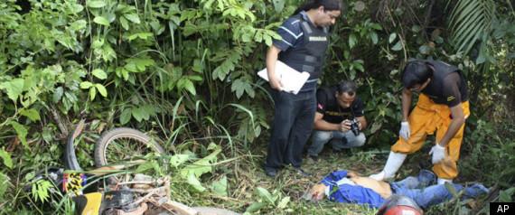 ADELINO RAMOS KILLED MURDERED ACTIVIST BRAZIL