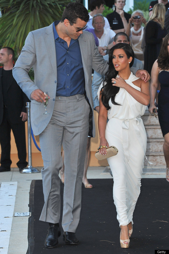 Kim Kardashian Flaunts Engagement Ring In Monaco PHOTOS HuffPost