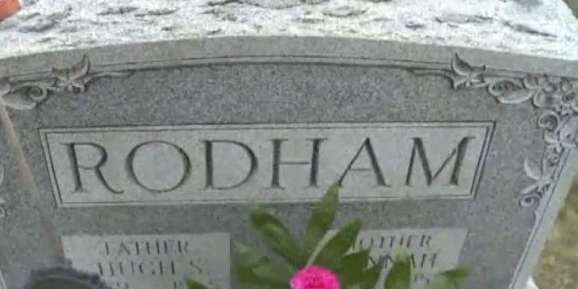 Hugh Rodham Grave